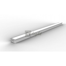 Встраиваемый алюминиевый профиль LE.6332