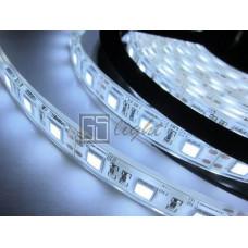 Герметичная светодиодная лента SMD 5050 60LED/m IP68 12V White